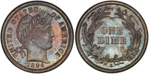Only 13 1894-S Barber Dimes have been accounted for (PCGS)