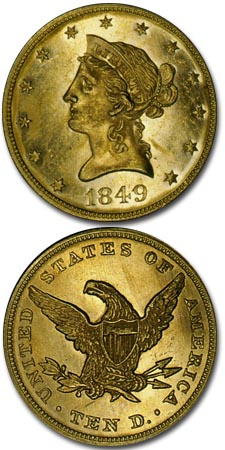 1838 1866 Liberty Head No Motto Eagle Coinsite