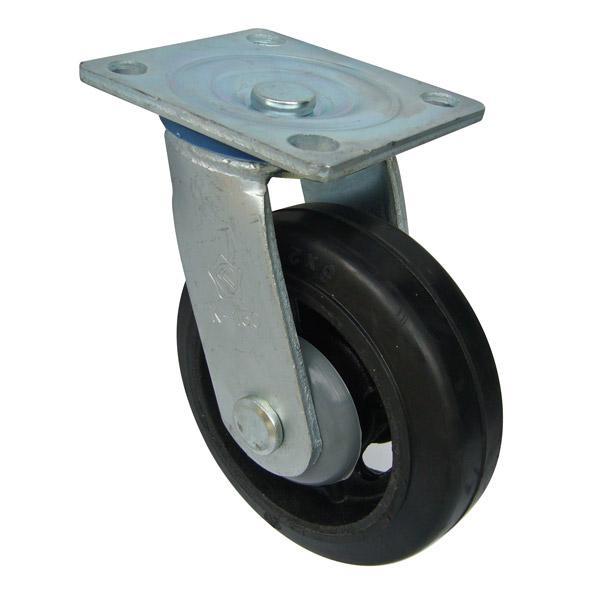 bánh xe Càng K xoay không thắng, bánh xe cao su lõi gang