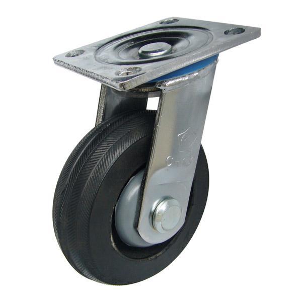 Càng C150 xoay, bánh xe cao su lõi gang của công ty cổ phần Làng Rùa