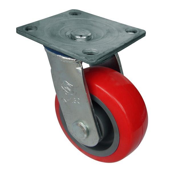 Càng K xoay, không thắng, bánh xe TPU K130-01T