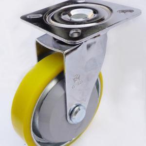 Càng G xoay, không thắng, bánh xe PU lõi thép G200-01U của công ty cổ phần Làng Rùa