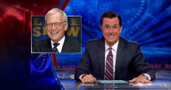 Stephen Colbert on David Lettermans replacement