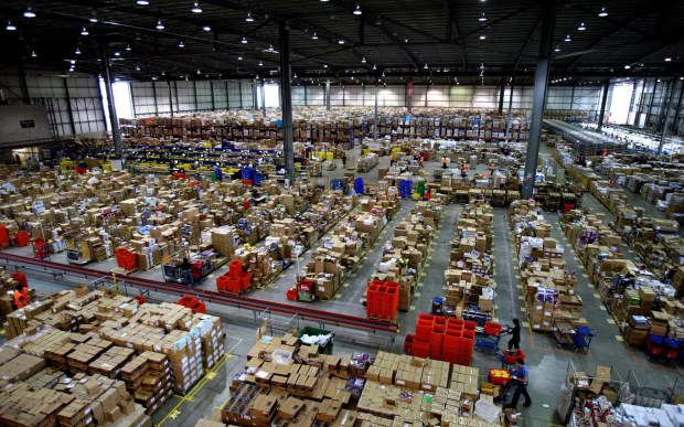 Amazon warehouse - Milton Keynes