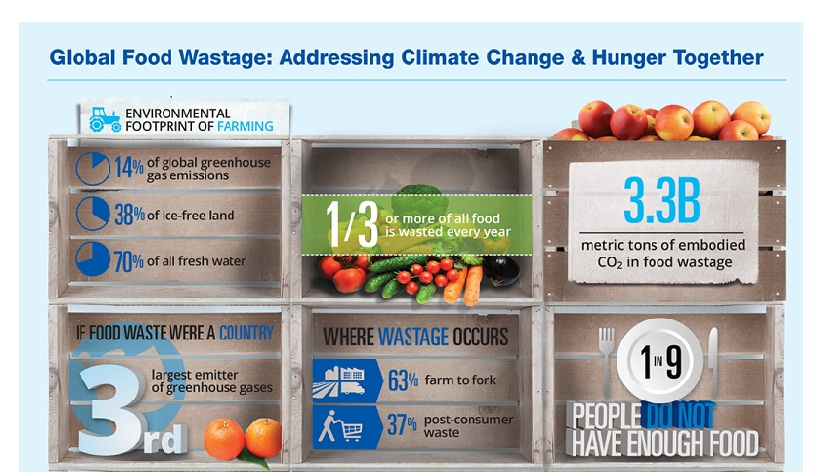 Addressing Climate change and Hunger Together