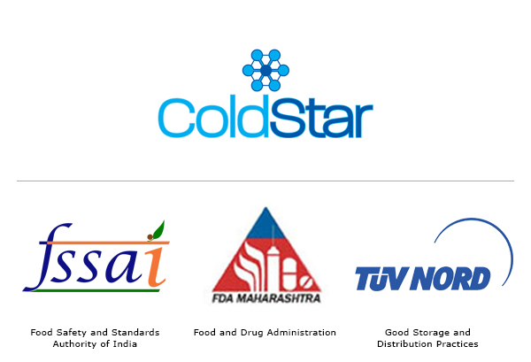 ColdStar's Services are Compliant with international quality standards