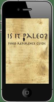 Is It Paleo iPhone