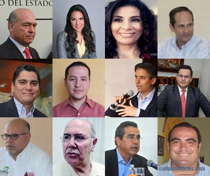 Integrantes del Gabinete de Gobierno de Ignacio Peralta