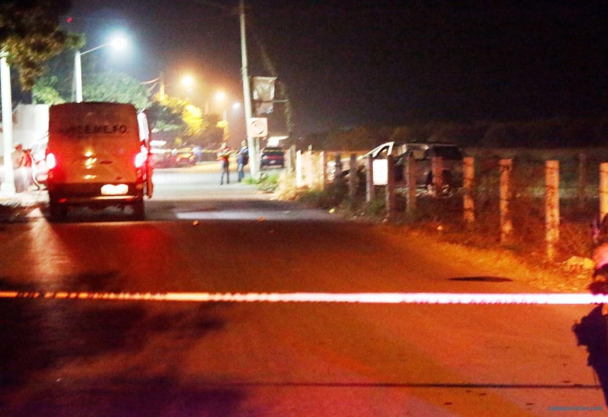 Un muerto y dos personas heridas; saldo de una emboscada anoche en Tecomán