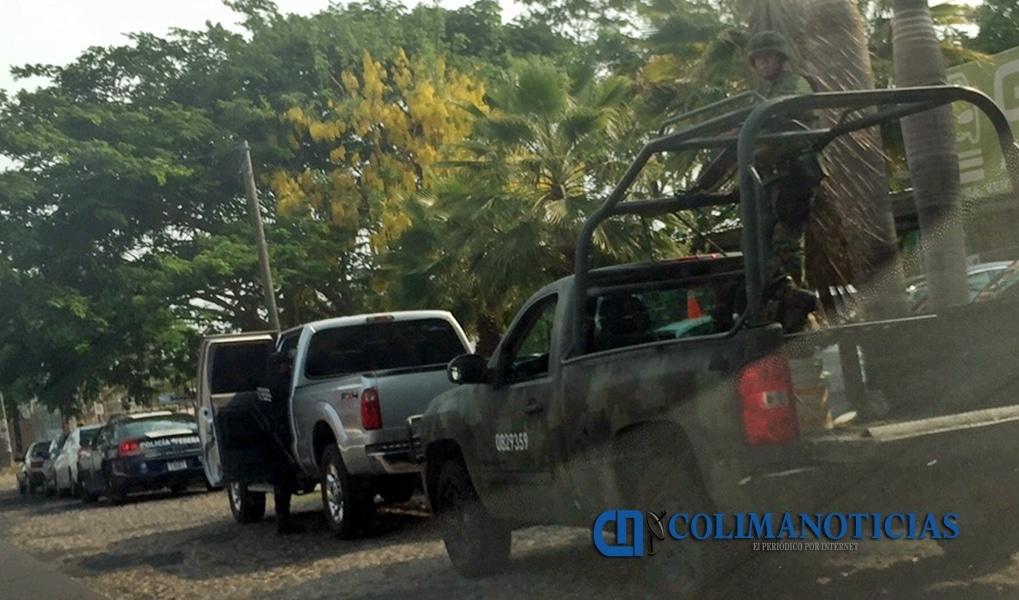 Sorprende presencia del Ejército y Policía Federal en lotes de autos