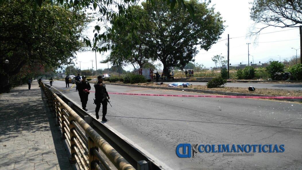 Muere motociclista y resultan otros dos lesionados en accidente rumbo a Lo de Villa