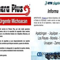 Primera Plus y ETN suspenden corridas a Michoacán por inseguridad