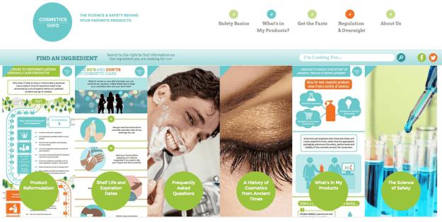 Cosmetics Info Cosmetic Ingredients Database