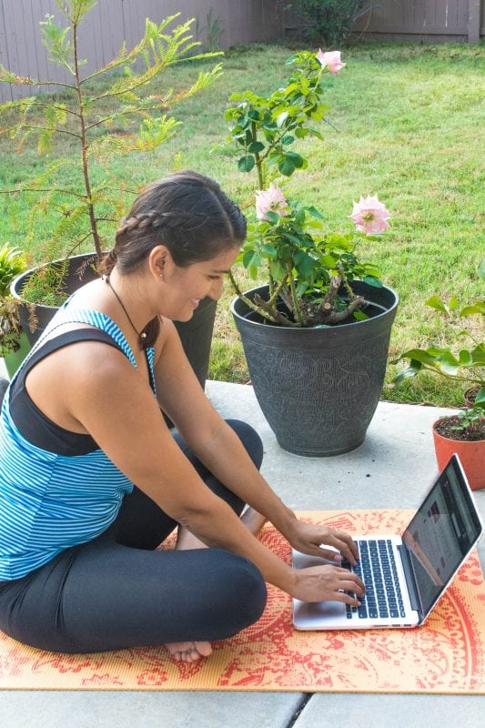 Take Yoga Anywhere with YogaDownload.com {REVIEW}