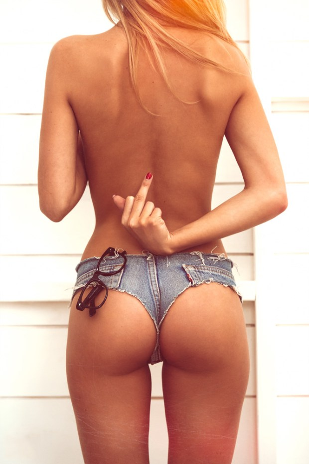 Babe.. Your Sexy Thigh Gap Is... HOT! (20 Photos ...