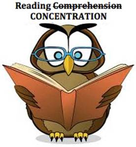 READING-CONCENTRATION
