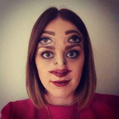 Fashion- Halloween- double face