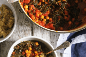 Autumn Recipes: Kale & Chickpea Stew