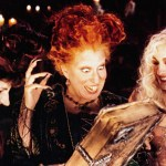 HOCUS POCUS, from left: Kathy Najimy, Bette Midler, Sarah Jessica Parker, 1993, © Buena Vista/courtesy Everett Collection