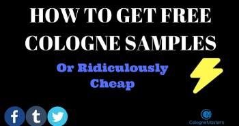 HOW TO GET FREE COLOGNE SAMPLES