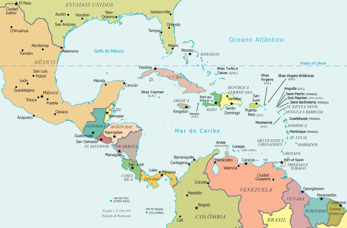 mapa-america-central
