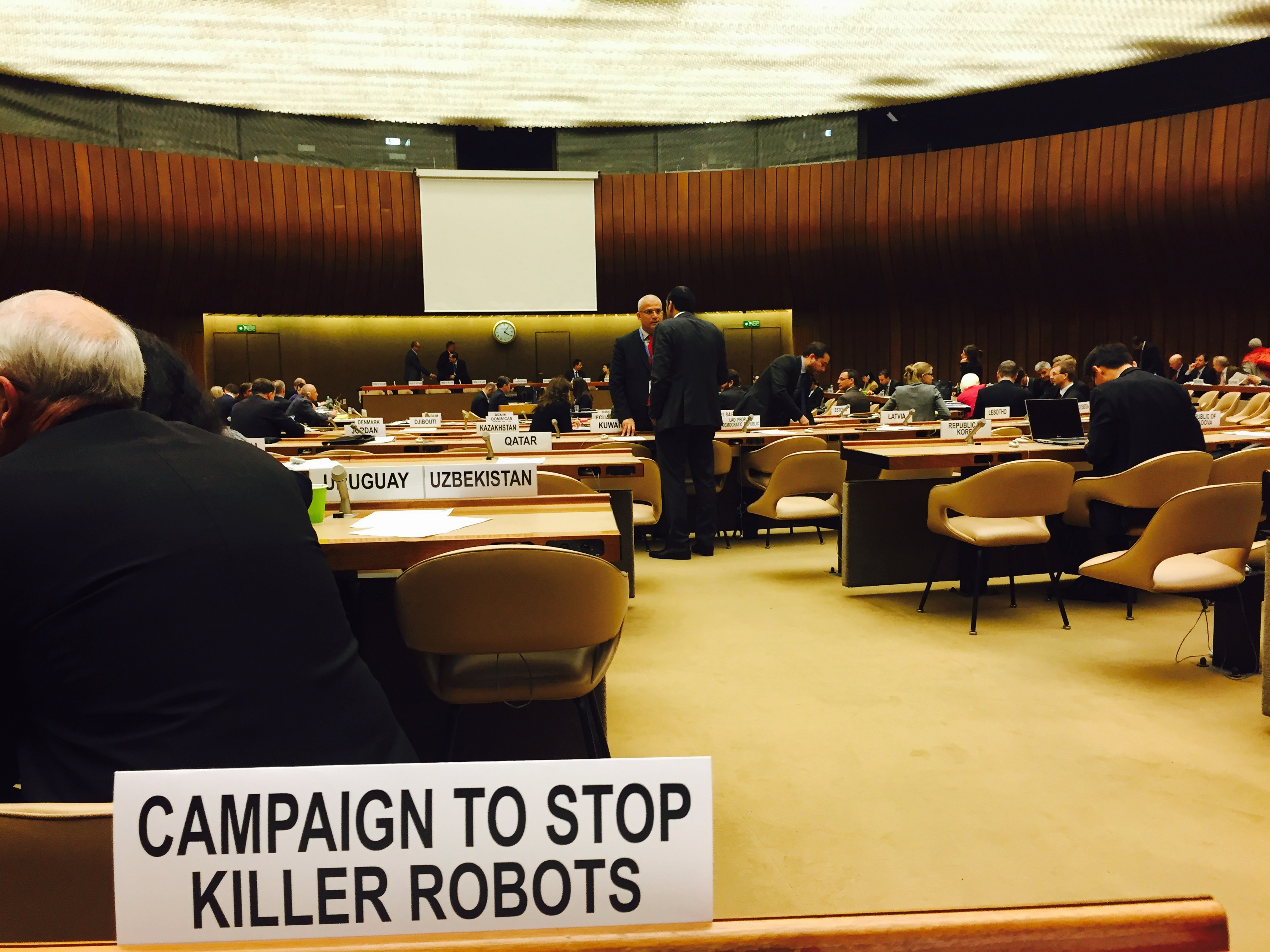 Foto Campaign to Stop Killer Robots