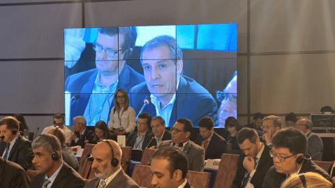 Intervención de Álvaro Jiménez, director de la CCCM, durante la 15MSP