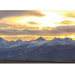 Colorado panorama canvas art