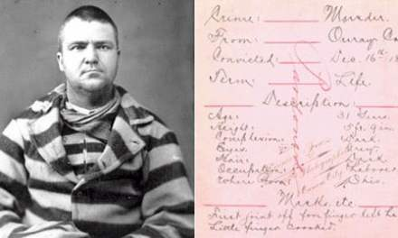 Prisoner Records Available at the Colorado State Archives