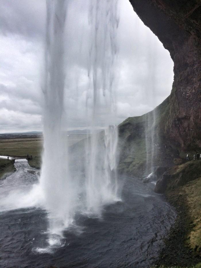 Wasserfall bei Selfoss