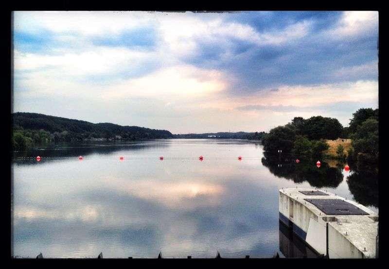 Joggen, skaten und spazierengehen am Kemnader See