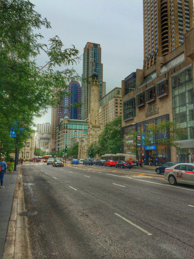 Magnificent Mile - die Shopping-Meile in Chicago