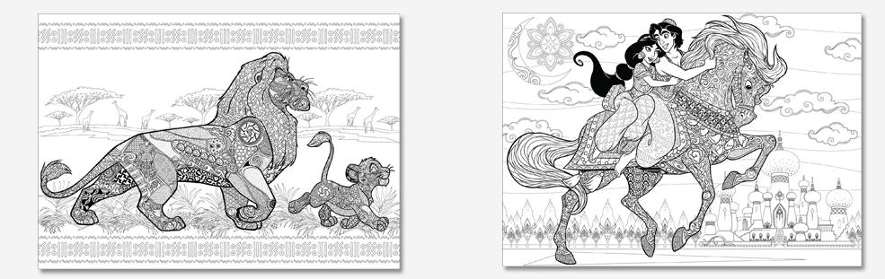 Le Bestiaire extraordinaire Disney page 1