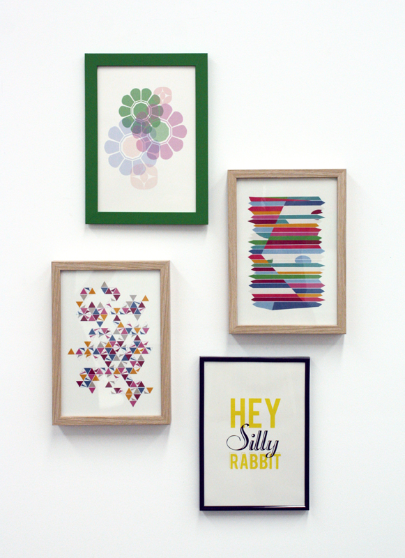 Silly Rabbit Art Prints - Photo courtesy of the artists.