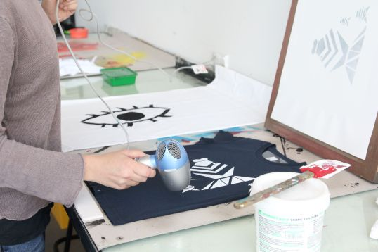 Colour Box Studio Learn to Screen Print in a Day with Ambette