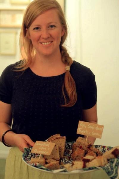 Angela O'Toole - Sourdough Workshop. Image provided.