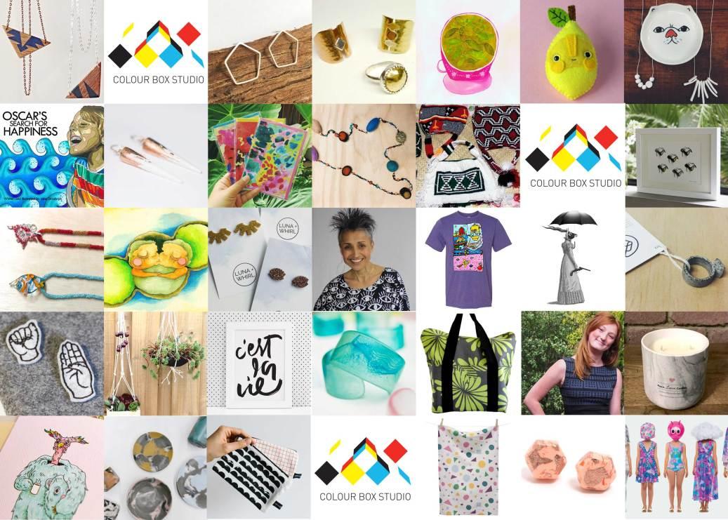 Colour Box Studio Spring Pop Up Shop Artists