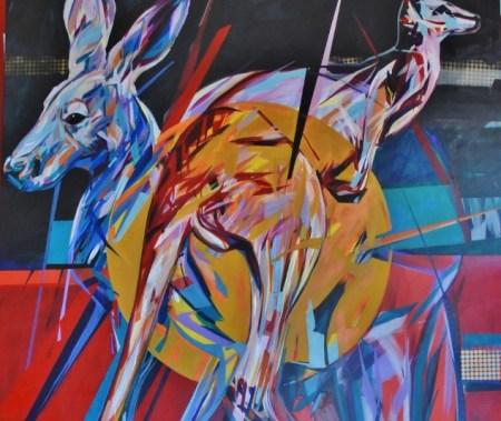Ferny Caro painting