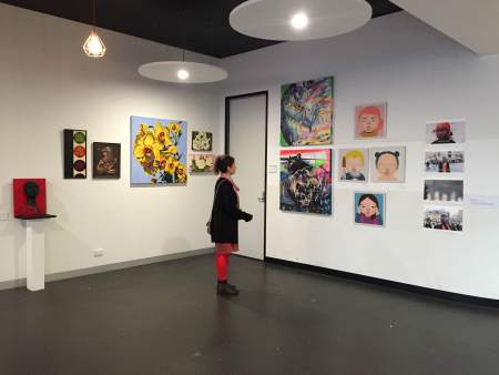 Throw Up Your Art Group Exhibition