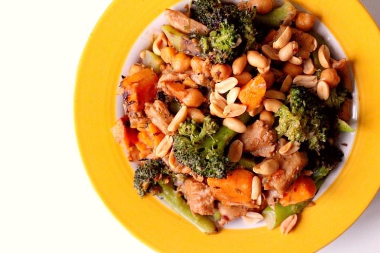 Recept vegan curry met zoete aardappel en broccoli 2