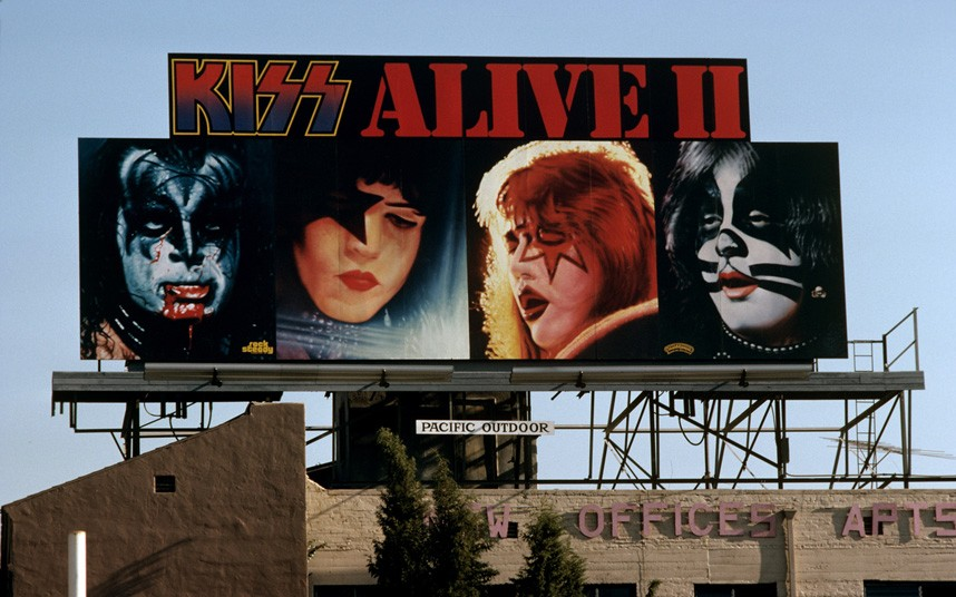 "Robert Landau ""Rock 'n' Roll Billboards of the Sunset Strip"""