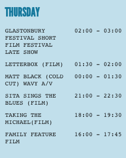GLASTONBURY - THURSDAY