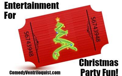 Entertainment For Christmas Party Fun