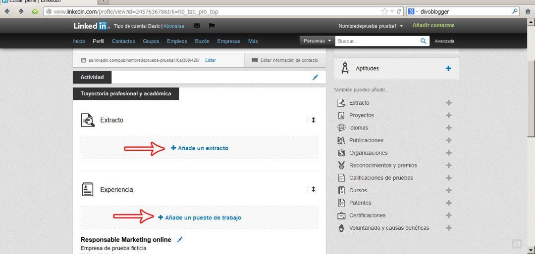 crear perfil en linkedin 8