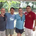Abramo,Sidney, Fabiano e Felipe