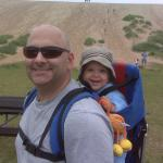 Baby's First Dune Climb