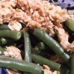 Quick Side Dish: Savory Streusel Topped Green Beans