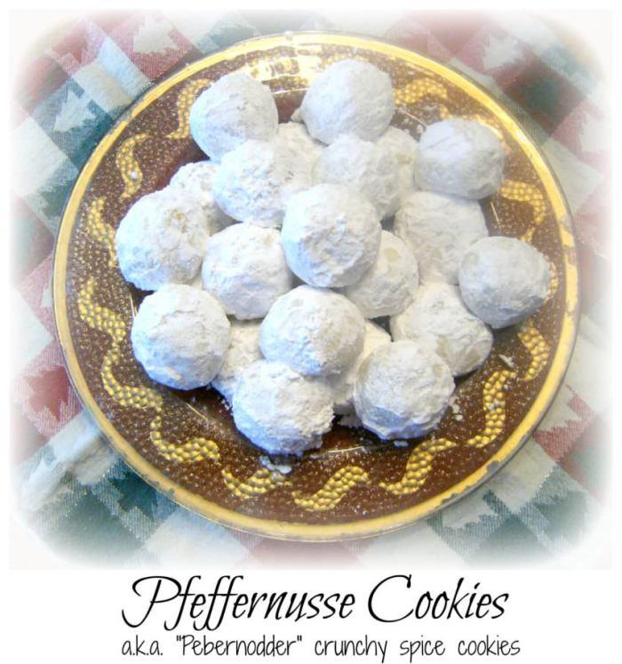 Pfeffernusse Spiced Snowball Cookies | ComfortablyDomestic.com