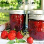 A Taste of Summer: Strawberry-Basil Jam (No Sugar Added)