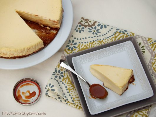 Almost Perfect Cheesecake via ComfortablyDomestic.com